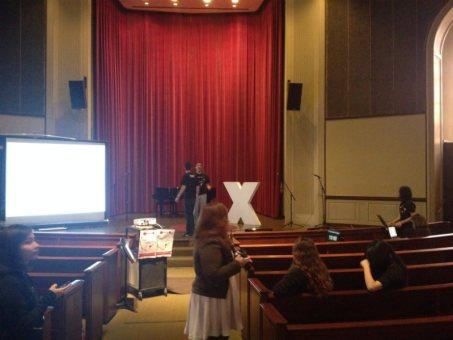 TEDx Setup small