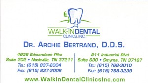 Dr Archie Bertrand DDS