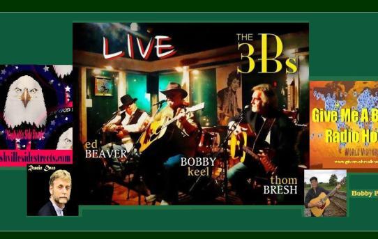 3b's ~ Thom Bresh ~ Bobby Keel ~ Ed Beaver ~ Nashville Side Streets