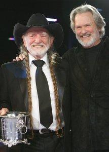Willie Nelson Kris Kristofferson 2007 BMI Awards