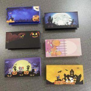 Halloween eyelash packaging box
