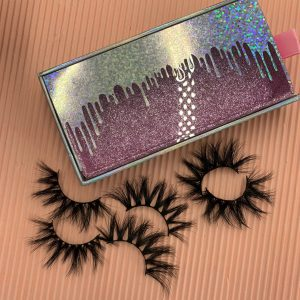eyelashes box wholesale
