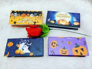custom Halloween eyelash packaging