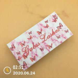 diy butterflies eyelash packaging
