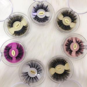 round Acrylic Eyelash Packaging