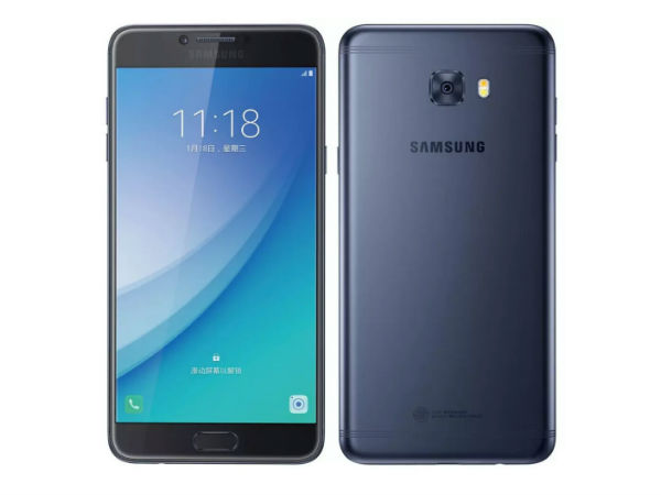 13% off on Samsung Galaxy C7 Pro (Navy Blue, 64GB)