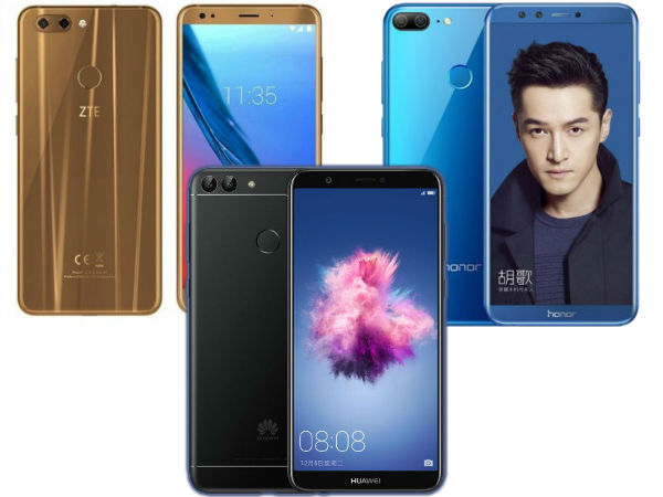 Weekly Roundup: Smartphones launched in the last week of 2017