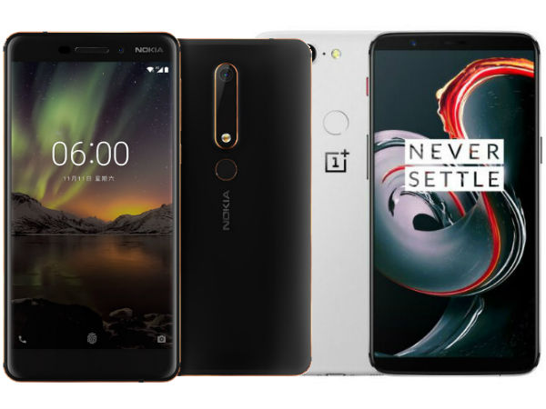Smartphones launched during the 1st week of 2018