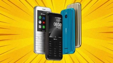 Nokia 6300 And Nokia 8000 4G Feature Phones Launched