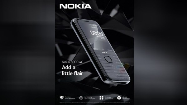 Nokia 8000 4G Details Hit The Web: KaiOS, 2.8-Inch Display And More