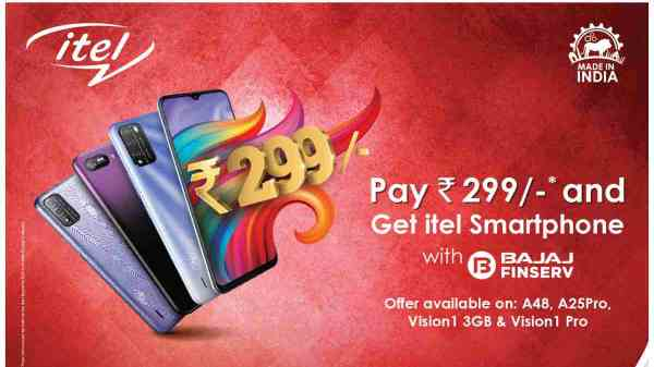 itel 4G Smartphones Available For As Low As Rs. 299