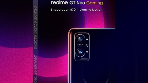 Realme GT Neo Gaming Tipped To Launch In September