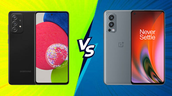 Samsung Galaxy A52s Vs OnePlus Nord 2
