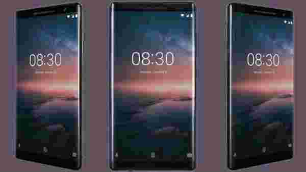 9% off on Nokia 8 Sirocco (No Cost EMIs from Rs 4,167/month)