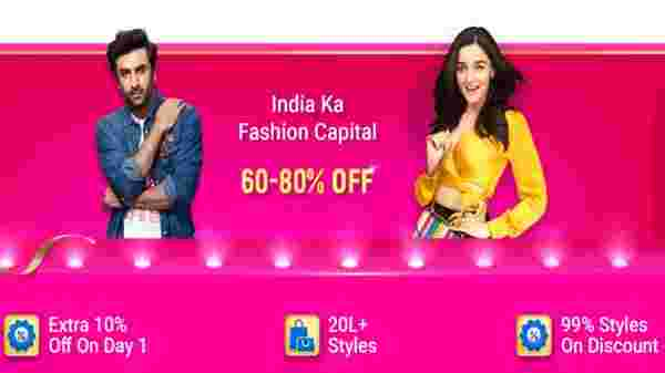 Up To 80% Off On Fashion Products