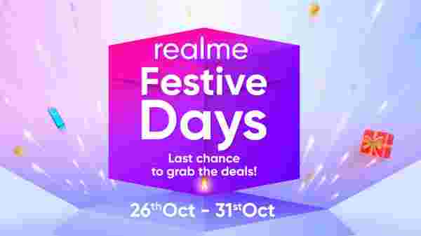 Realmy Days Sale: Special discount offers on Realmy smartphones