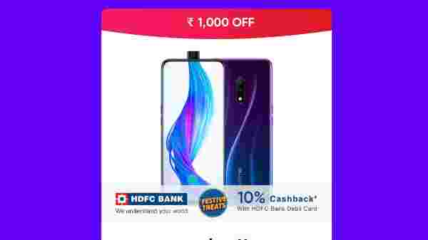 Realmy X (Rs. 1,000 off)