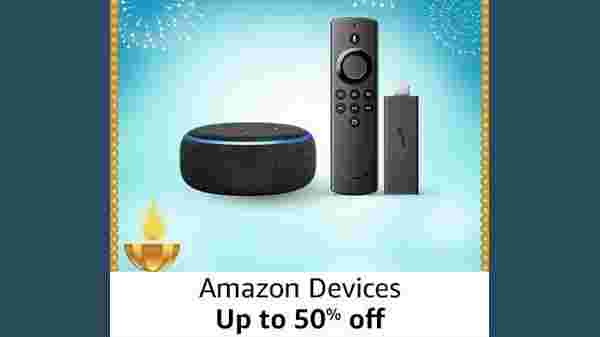 Up To 50% Off On Amazon Devices