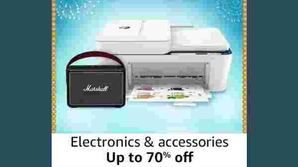 Up To 70% Off On Electronics And Accessories