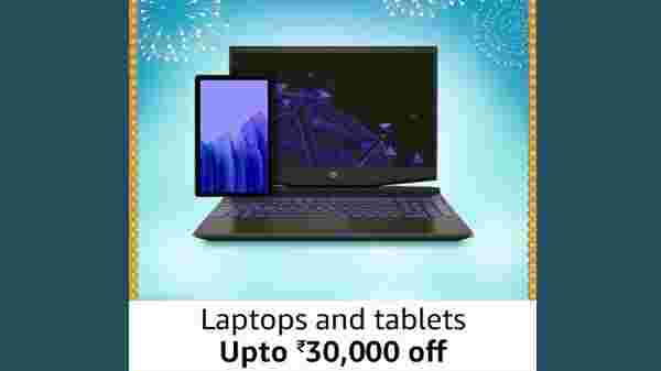 Up To Rs. 30,000 Off On Laptops And Tablets