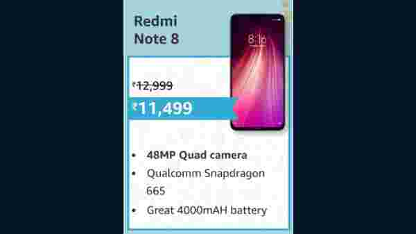 12% Off On Redmi Note 8