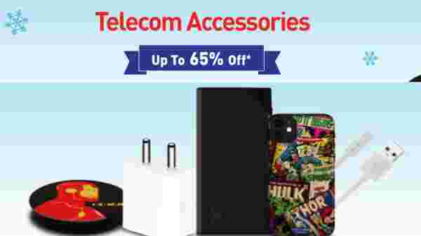 Up To 65% Off On Telecom Accessories
