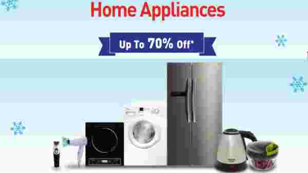 Up To 70% Off On Home Appliances