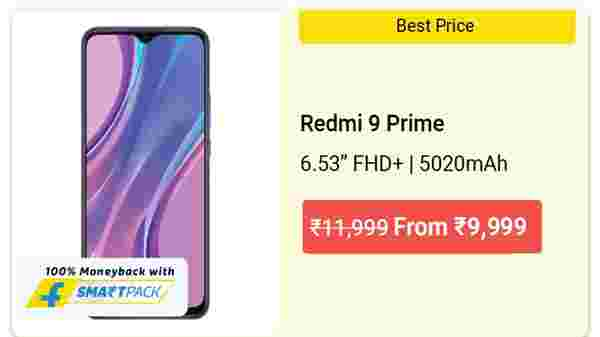 16% Off On Redmi 9 Prime