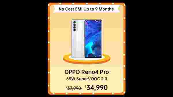 8% Off On Oppo Reno4 Pro