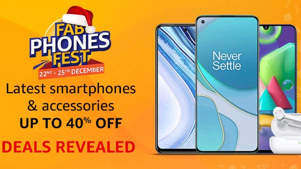 Amazon Fab Phones Fest Offers On Smartphones