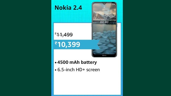10% Off On Nokia 2.4 Android 10 Smartphone