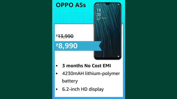 31% Off On OPPO A5S
