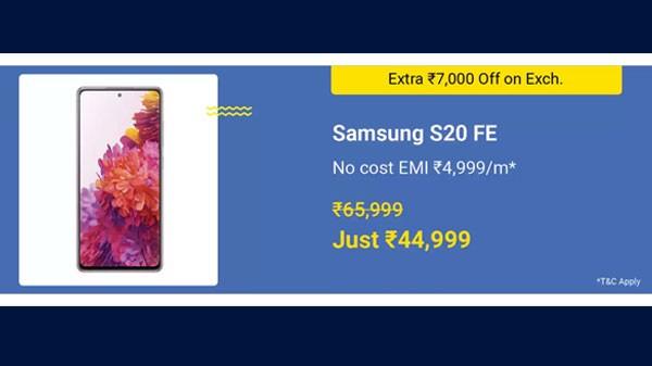 31% Off On Samsung Galaxy S20 FE