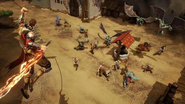 village-fight