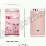 pink huawei p9 leak