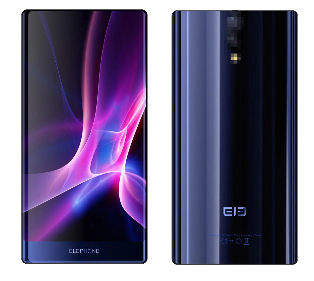 Elephone S8 renders confirm new deca-core design