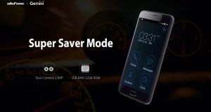 Ulefone Gemini super saver mode
