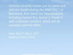 Ulefone MWC 2017