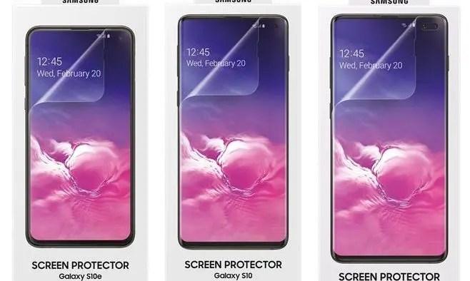 s10 screen protector