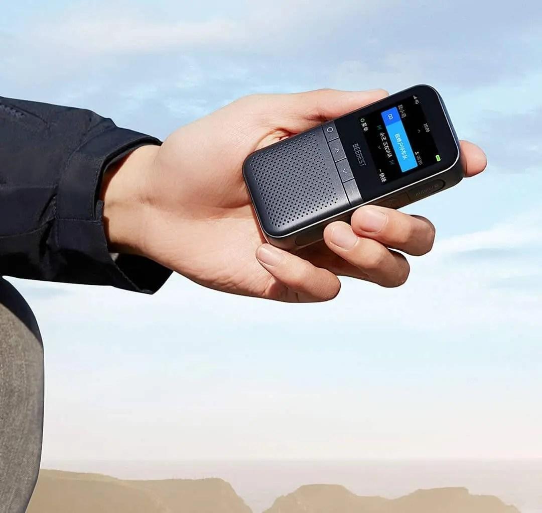 Gigabee smart walkie-talkie