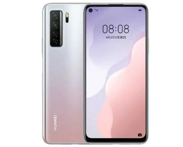Huawei Nova 7 SE Lohas Edition with Kirin 820E