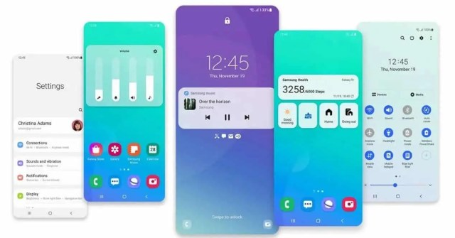 Image result for Samsung OneUI 3.1