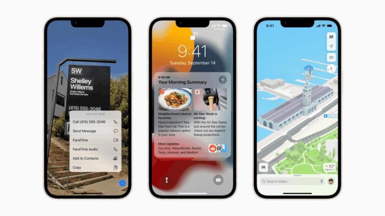 iOS 15.