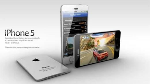 new iphone 5 white design