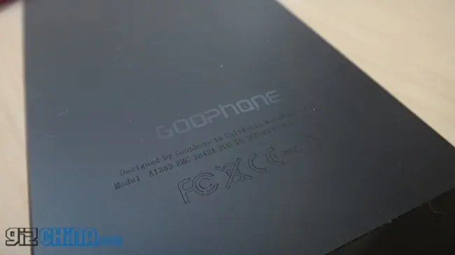 GooPhone i5 hands on review