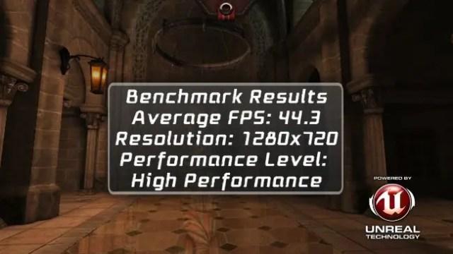 epic citadel benchmark hero h7500