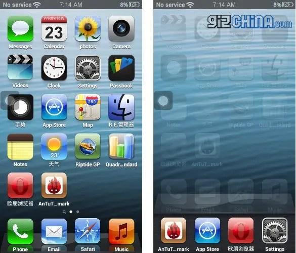 goophone i5 screenshots 1