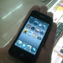 iphone 4 nano in hand