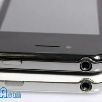 The top of the fake iPhone 5's