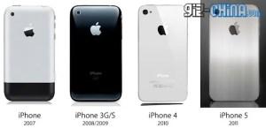 iPhone 5 getting 4 inch screen metal body